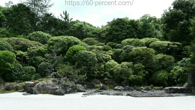 南禅寺の塔頭 金地院の庭園の画像