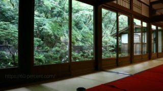 南禅寺で頂く抹茶と和菓子の画像