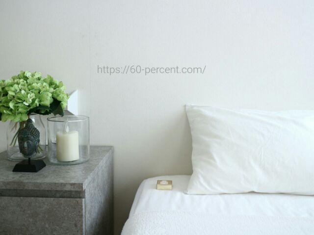 枕元に置いている俵屋旅館の石鹸の画像