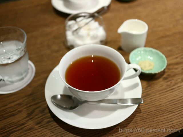 高台寺のカフェkawataro紅茶の画像