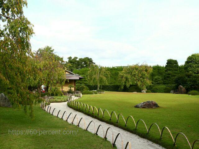 城南宮の桃山の庭の画像