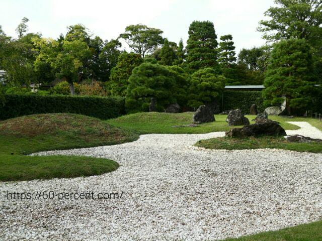 城南宮の城南離宮の庭の画像