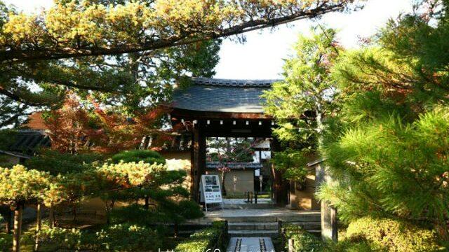 大徳寺塔頭・大仙院の表門と外観の画像