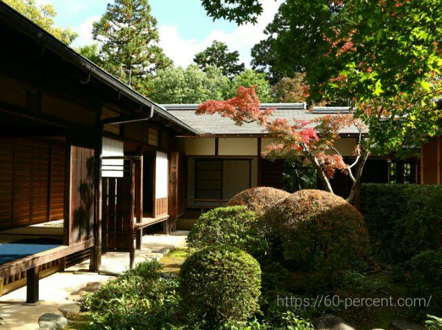 大徳寺塔頭・高桐院の庭園の画像