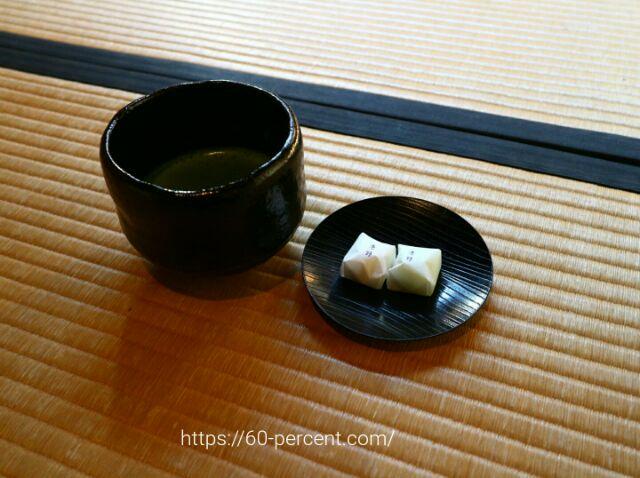 大徳寺塔頭・瑞峯院で頂くお抹茶とお菓子